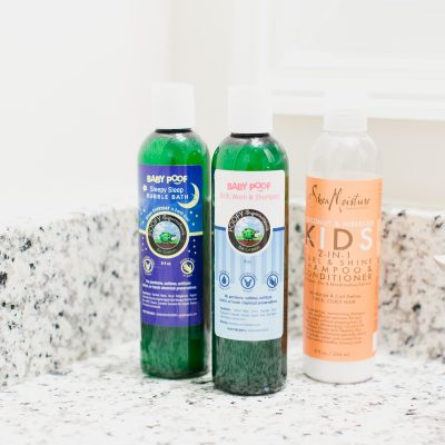 My Favorite Natural Bath Products for Kids