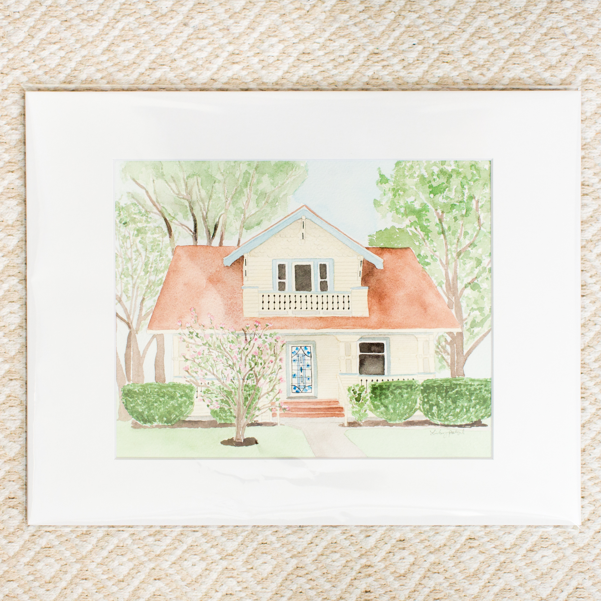 Watercolor Home